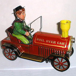 Boil Over Car