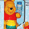 Pooh with Bobby; red shirt