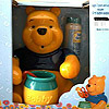 Pooh with Bobby; black shirt